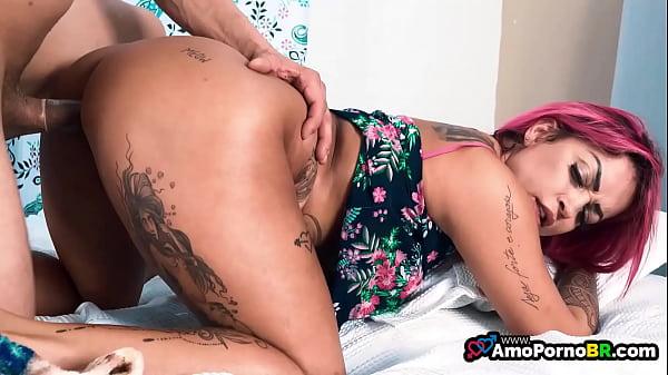 Porno brasileiro em HD com rabuda tatuada